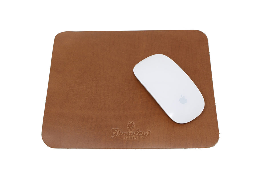 Leather Mouse Pad - Derby