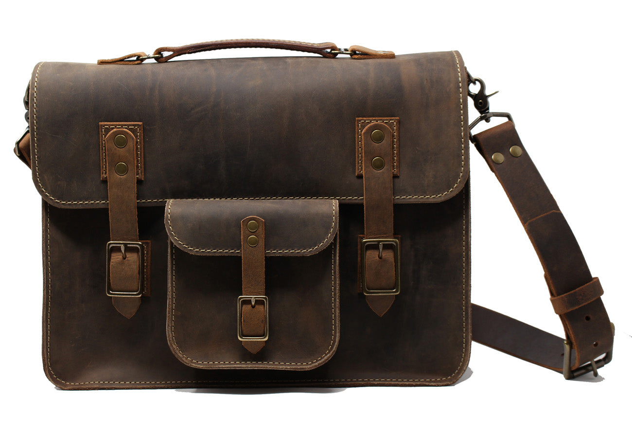 Finch Briefcase - Crazyhorse