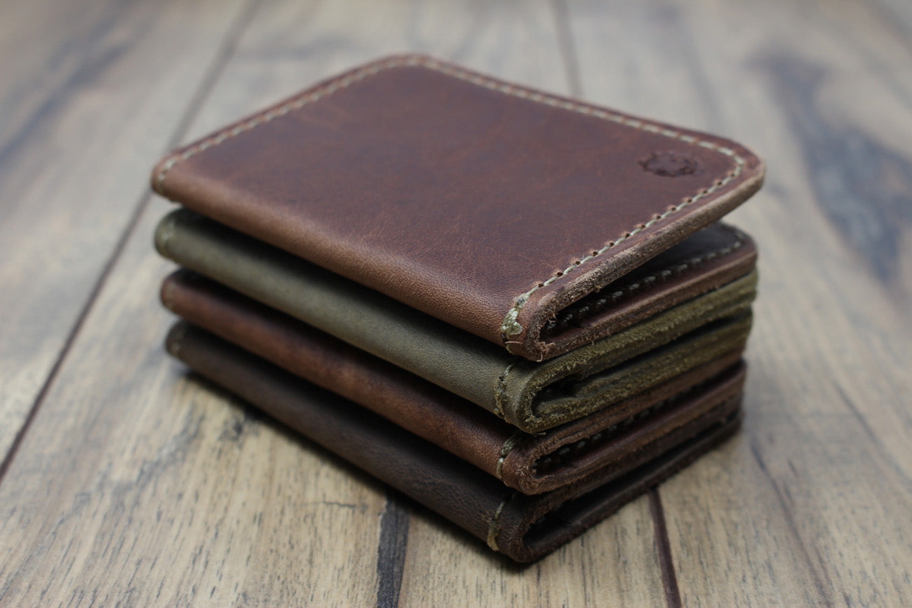 Bison Bifold Wallet - Crazyhorse