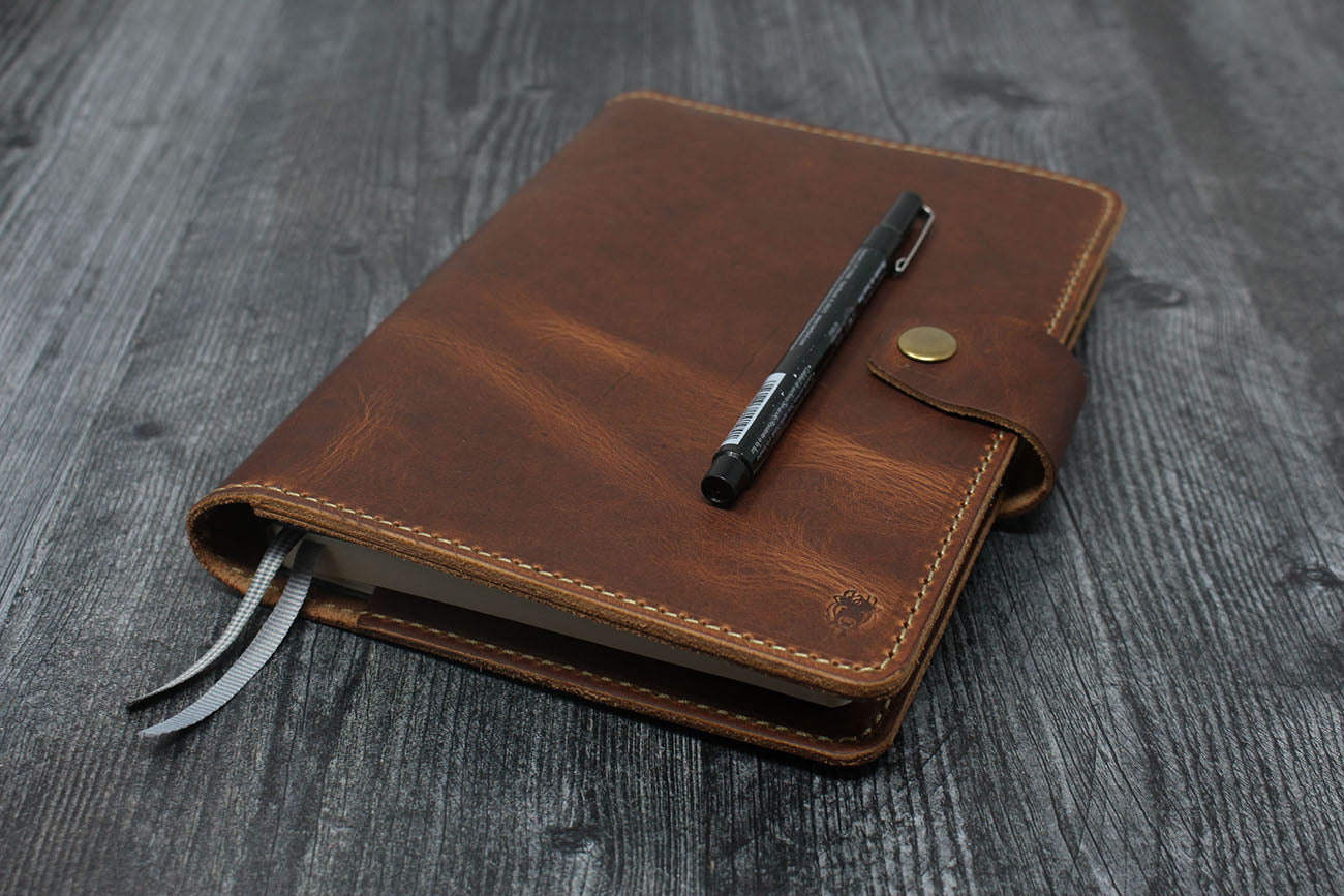 Leuchtturm1917 / A5 Bullet Journal Leather Cover