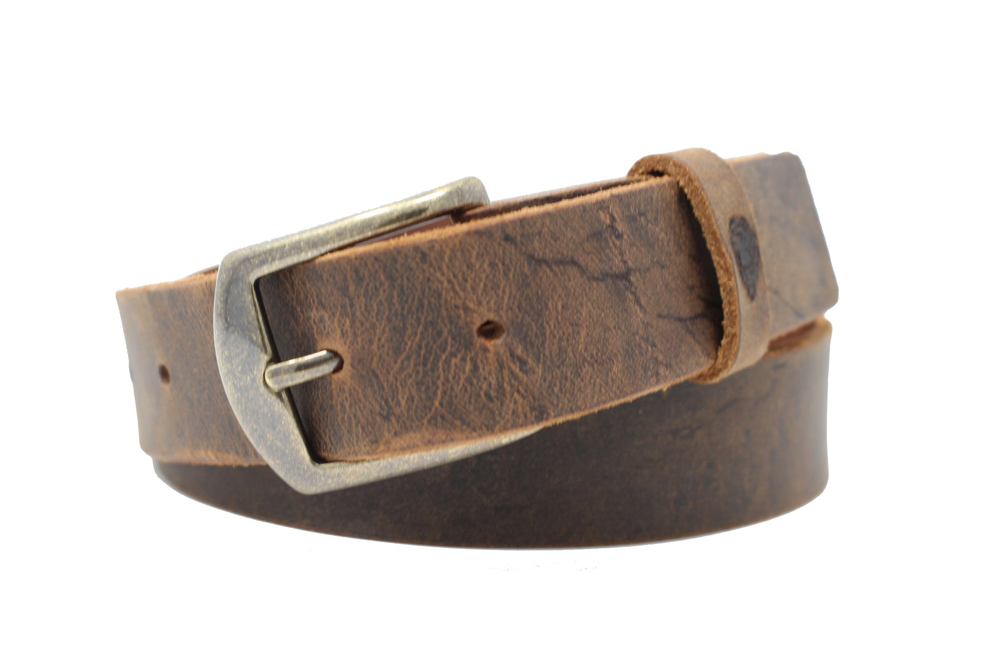 True Blue Buffalo Belt - Slim