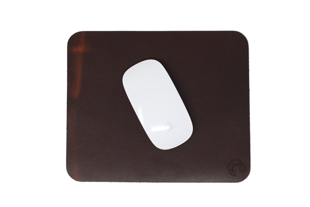 Rabbit Room Leather Mouse Pad
