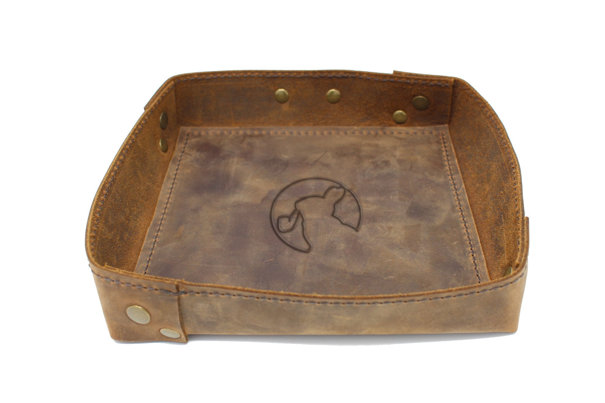 Rabbit Room Leather Valet Tray