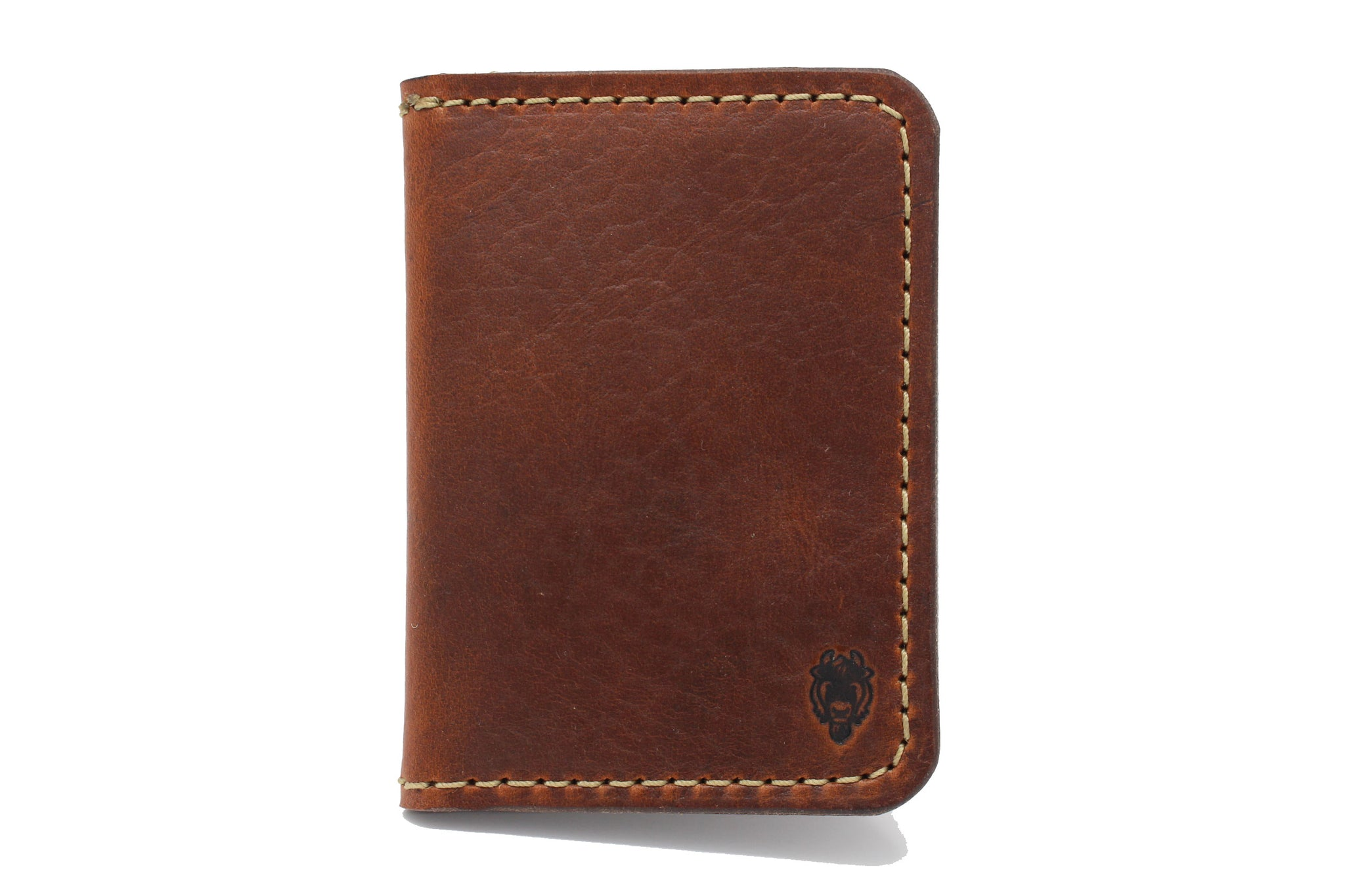Bison Bifold Wallet - Sienna Brown