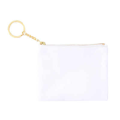 Blank Zip Card Key Fob - Sublimation - 6pk