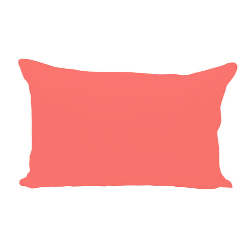 Coral Lumbar Pillow Cover DISCONTINUED - 1pk