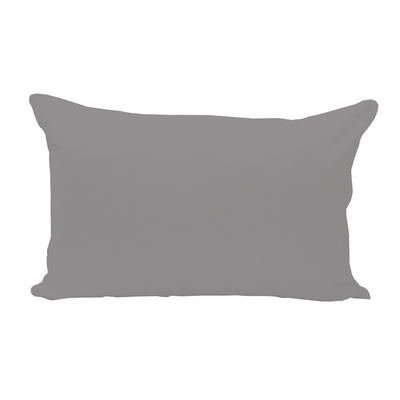 Gray Lumbar Pillow Cover - 3pk