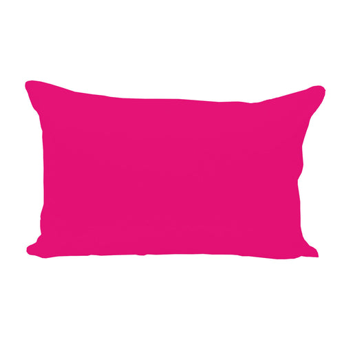 Hot Pink Lumbar Pillow Cover - 3pk