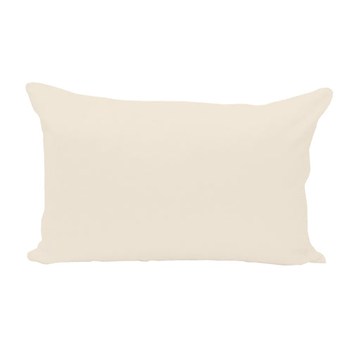 Natural Lumbar Pillow Cover - 3pk