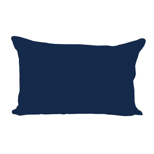 Navy Lumbar Pillow Cover - 3pk