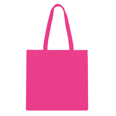 Hot Pink Zip Tote Bag - 3pk