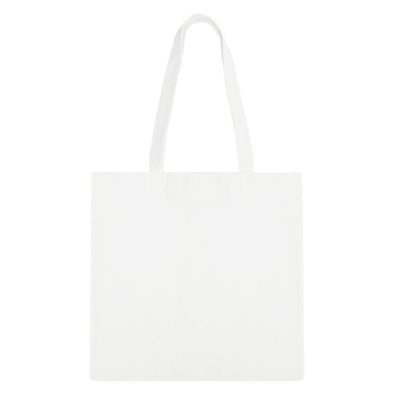 White/White Zip Tote Bag - 3pk