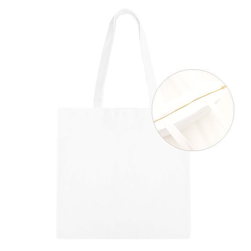 Sublimation Zip Tote Bag - 3pk