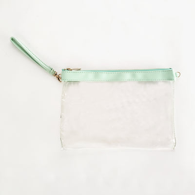 Clear Vinyl Mint Stadium Bags - 3pk