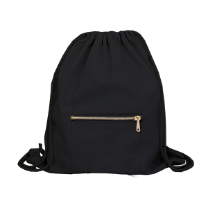 Black Drawstring Bag - 3pk