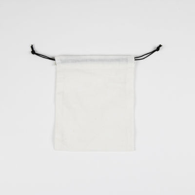 Muslin Bag w/ Black String - 50pk