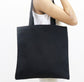 Black Zip Tote Bag - 3pk