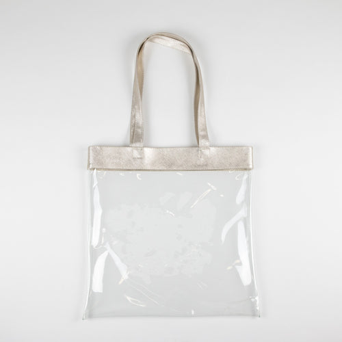 Clear Tote Bags  - 3pk