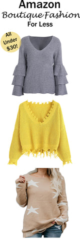 Amazon Boutique Sweaters