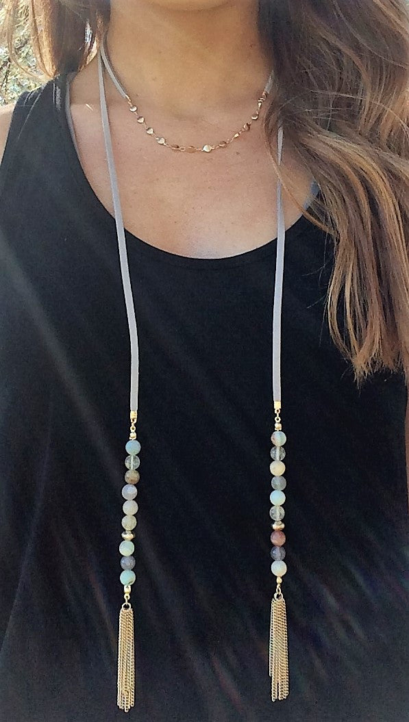 Tassel Wrap Necklace