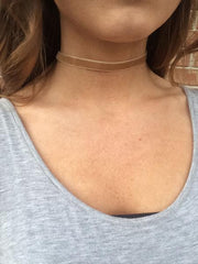 Velour Choker - 6 colors