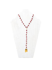Elephant - Game Day VIP Necklace - Crimson