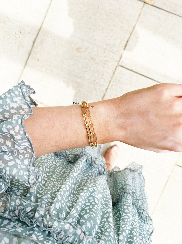 tarnish resistant gold bracelets - best gold accessories - beachy jewelry brands