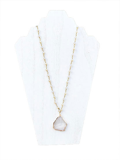 Champagne Crystal Necklace