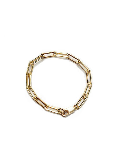chain link gold bracelet - best quality gold jewelry