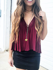 maroon and white Mississippi state bulldogs game day jewelry outfit