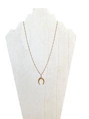 crescent necklace - jewelry like gorjana