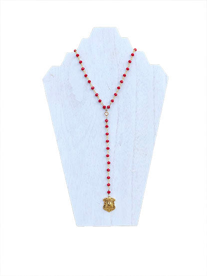 Bulldog - Game Day VIP Necklace - Red