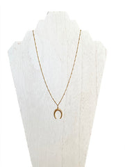 jewelry like gorjana - crescent necklace