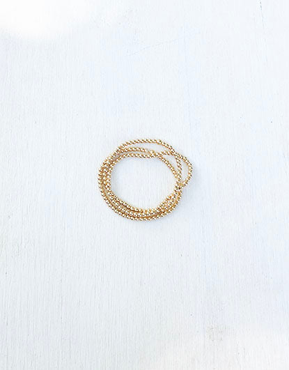 Everyday Beaded Bracelet - 3mm