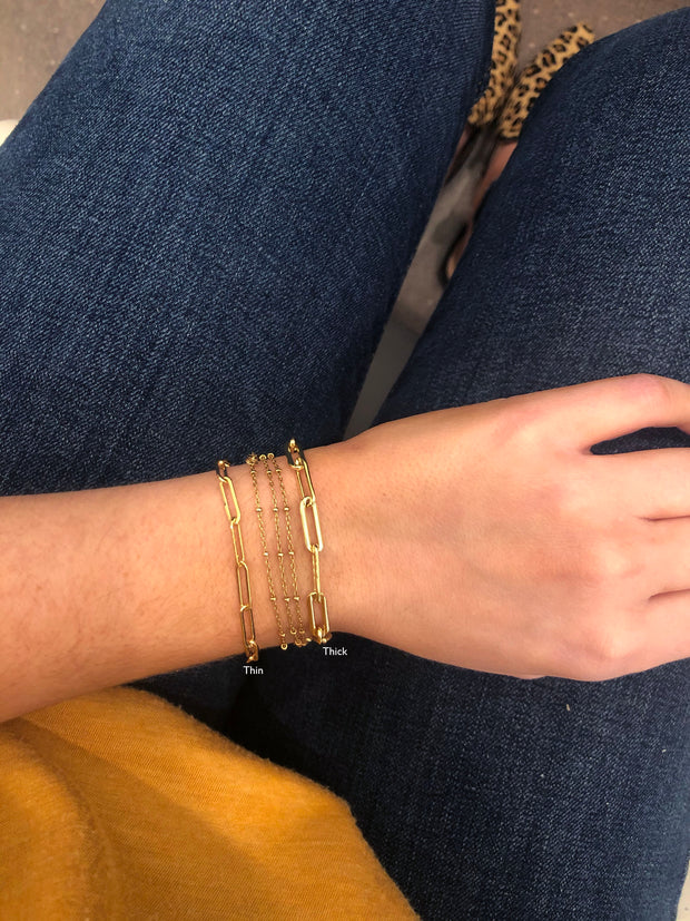 best gold chain brands - chain link bracelets