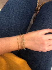 Gold filled bracelets - small jewelry store - quality gold jewelry - chain link bracelets