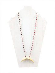 Maroon Madness Necklace