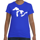 Women's Great Lakes T-Shirt - American Apparel