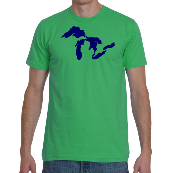Great Lakes T-Shirt - Unisex - American Apparel