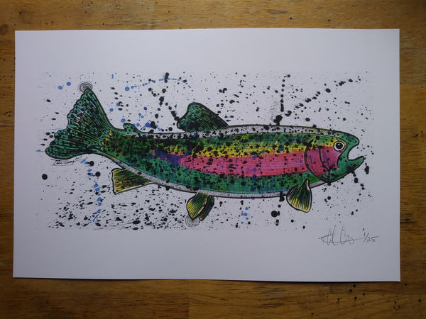 Big Rainbow Print - 11x17 - Limited Edition