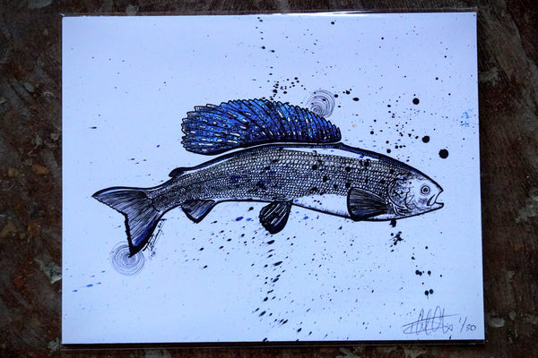 Grayling Print - 11x14 - Limited Edition
