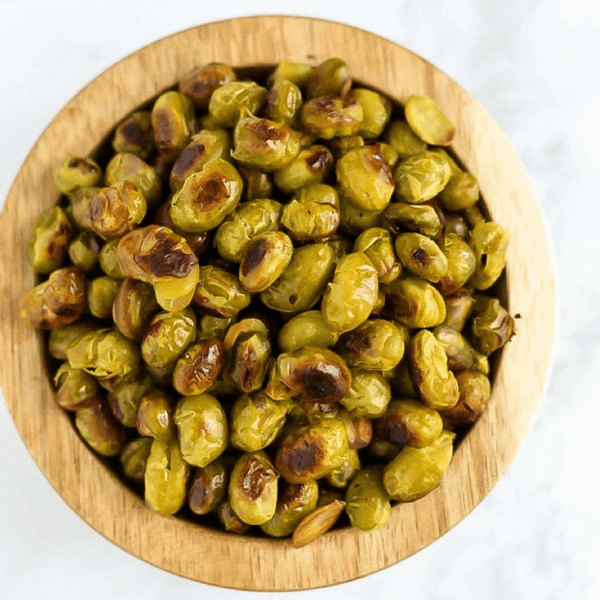 Salt and Vinegar Roasted Edamame
