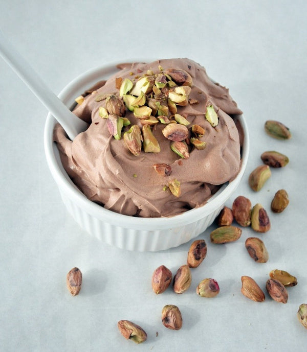 5-Minute - 5 Ingredient Chocolate Coconut Protein Mousse