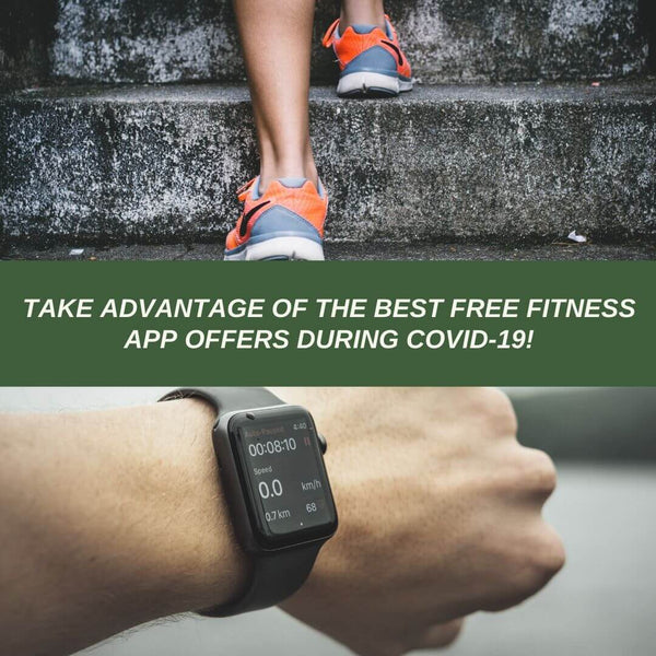BEST FREE FITNESS APP OFFERS DURING COVID-19!
