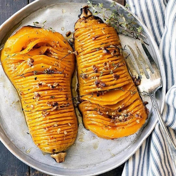 Easy Roasted Butternut Pumpkin!
