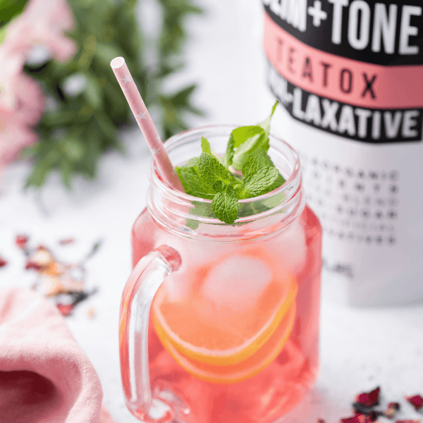 2 ways to enjoy an icy chilled delicious Teatox!