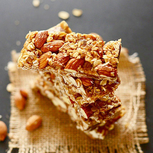 Healthy No Bake Protein Granola Bars