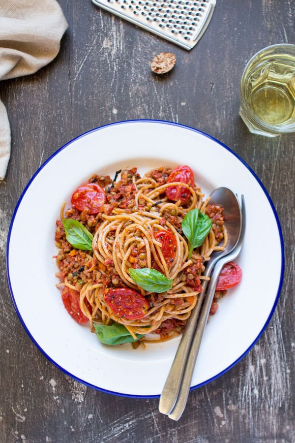 Vegan Healthy Bolognese