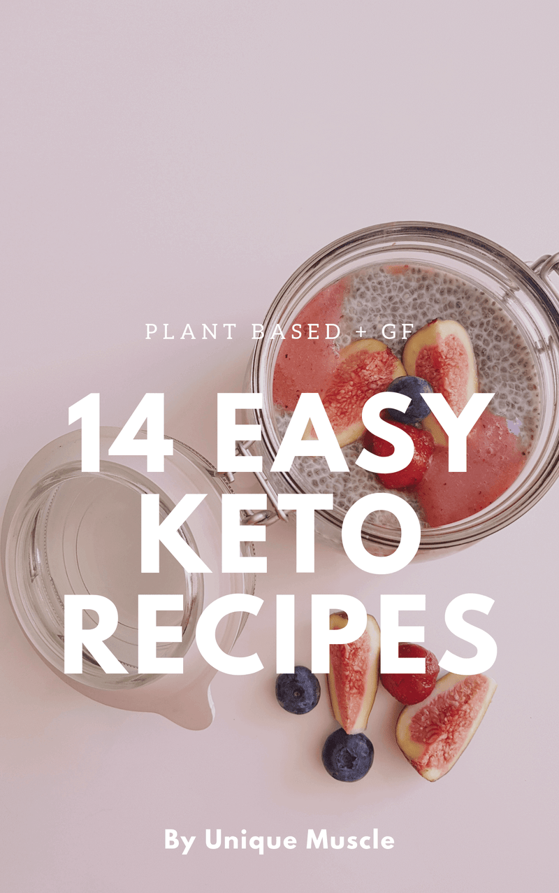 14 Easy Keto Recipes - Free Download - Unique Muscle
