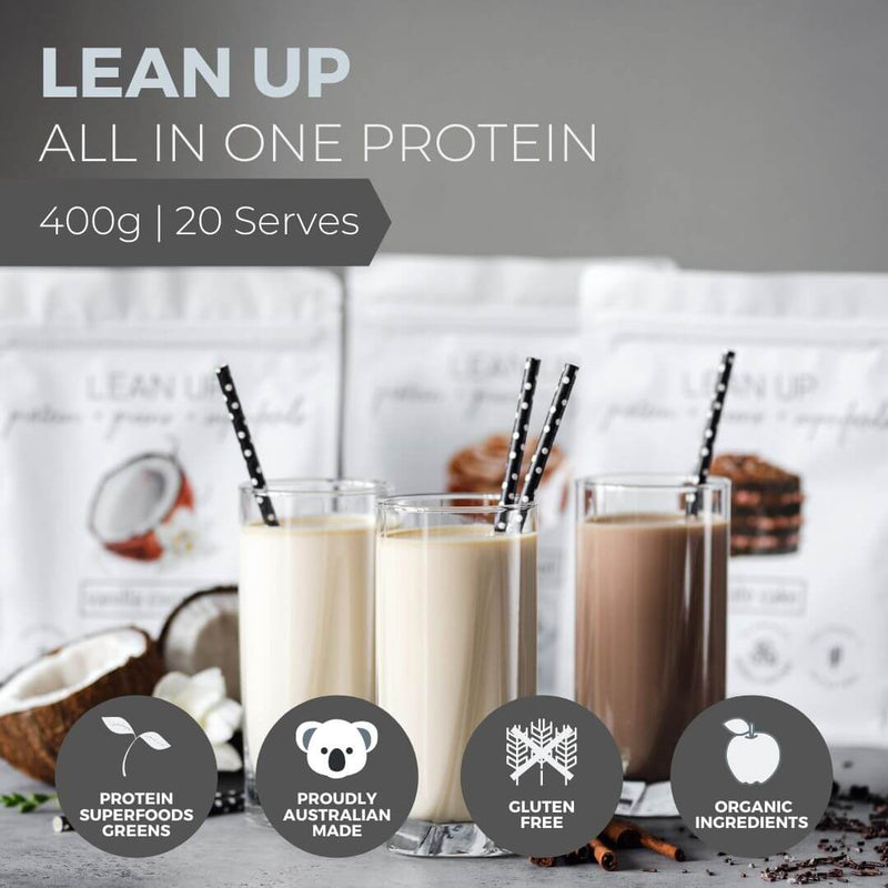 Lean Up - All In One Vegan Protein Powder - Unique Muscle